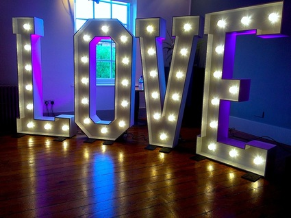 Love letter hire for weddings Manchester